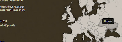 CSS & jQuery Clickable Map of Europe