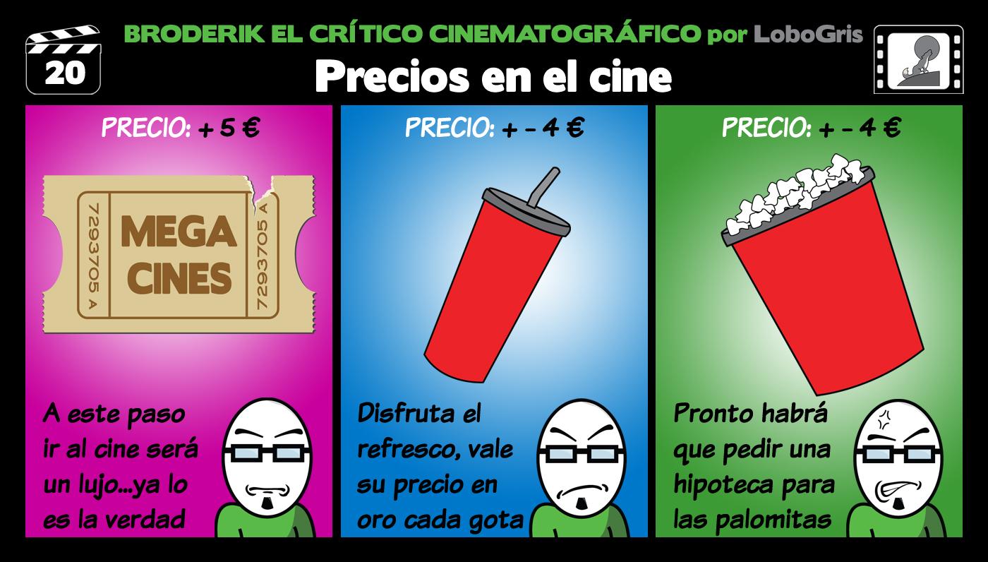 Cr tico cinematogr fico tira 20 precios en el cine for Cines arenys precios