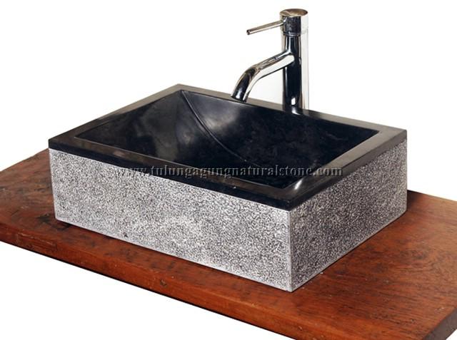 CV WIRA DJADIE NATURALSTONE Waschbecken Marmor  Vasque Marbre  Wasbak Mar # Wasbak Marmer_024341