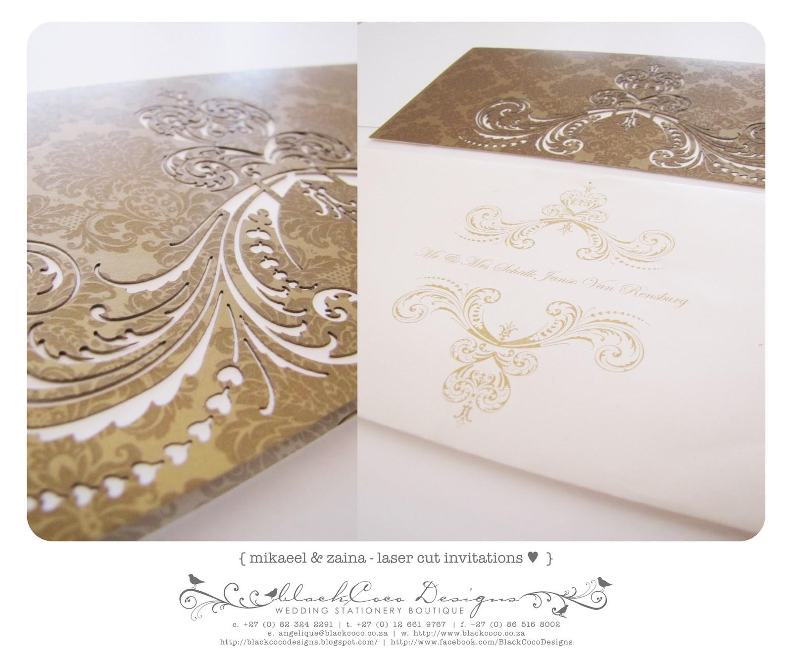 BlackCoco Designs - Event & Wedding Stationery