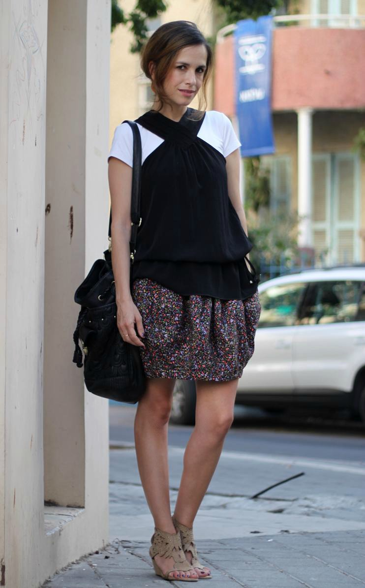 fashion, follow, inspire,good, skirt,  skirt, trend, adapt,statement, Tel Aviv, nachmani, street