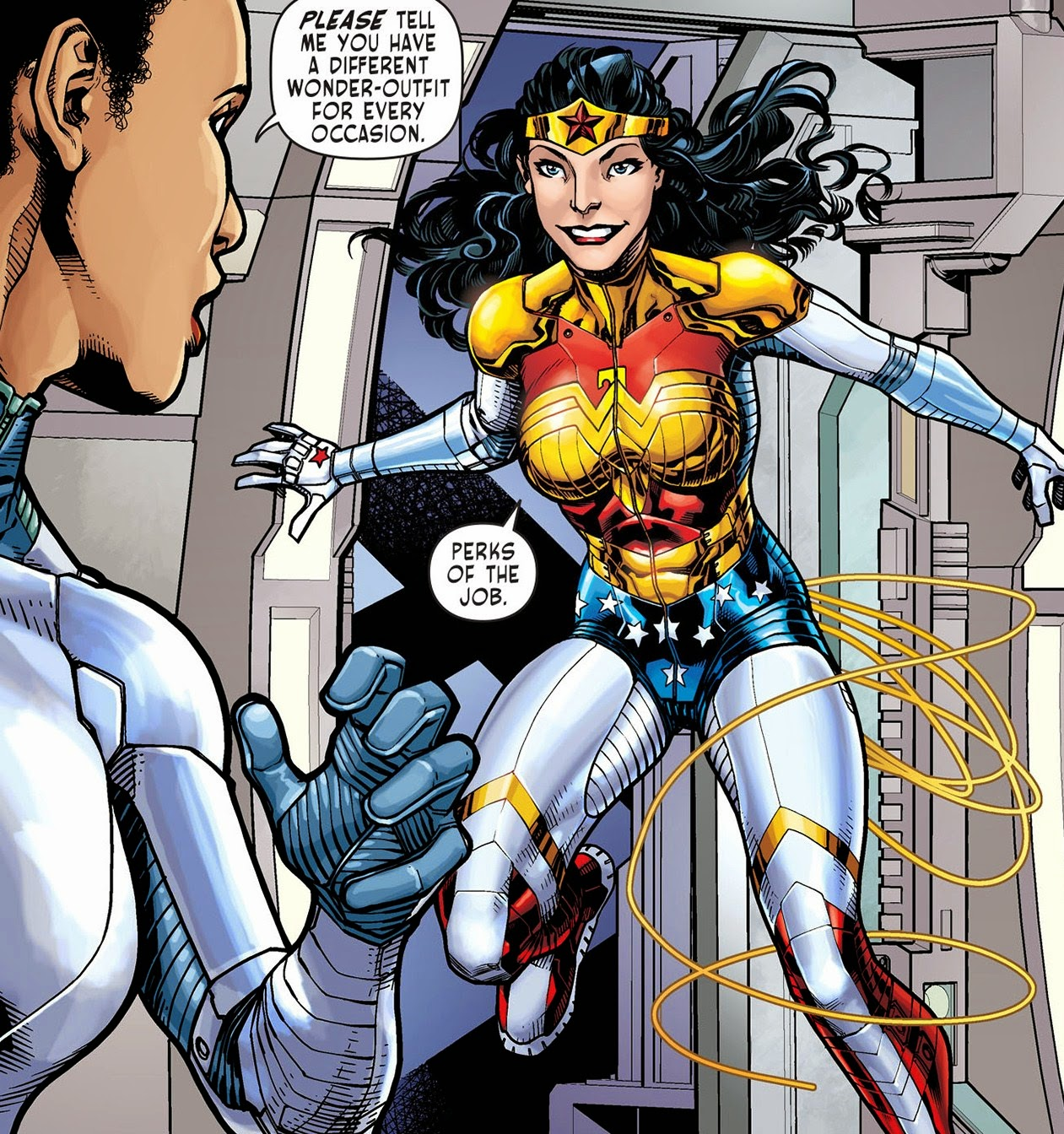 Sensation Comics Featuring Wonder Woman - Alex de Campi - Neil Googe 2