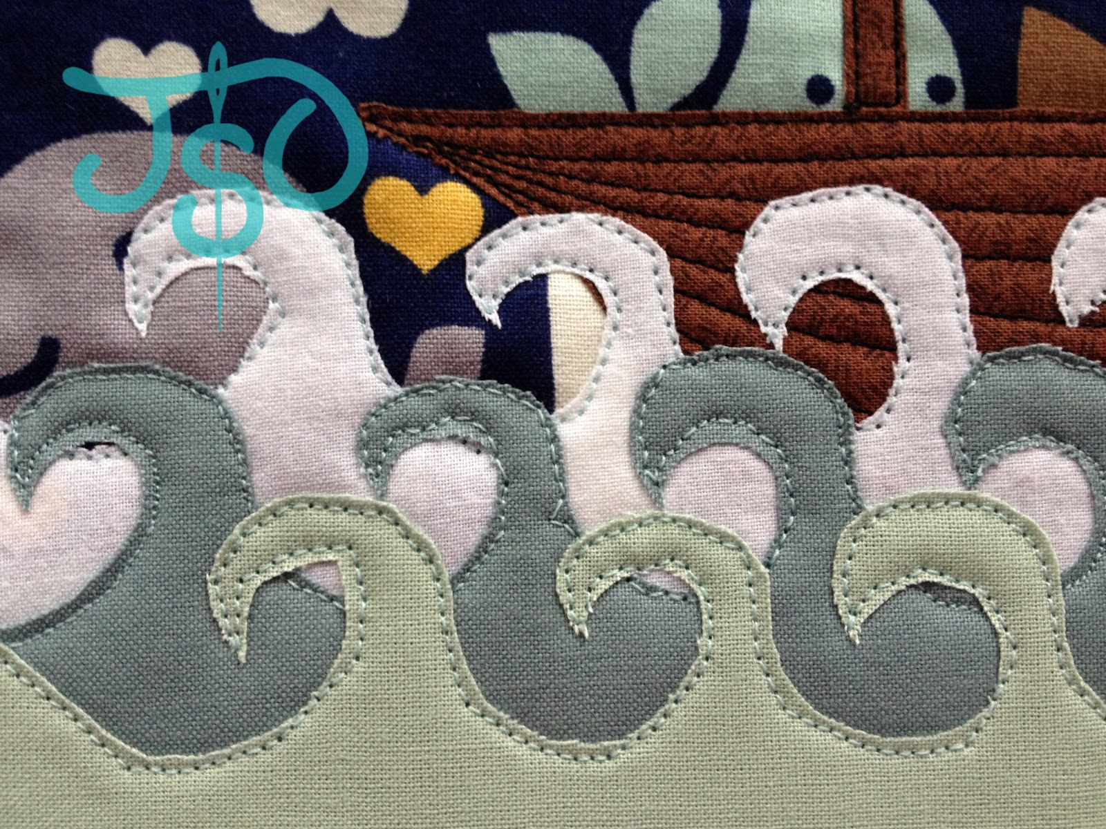 Justsewolivia: tutorial: the tooth fairy pillow with raw edge applique