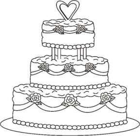 wedding coloring pages, free coloring pages