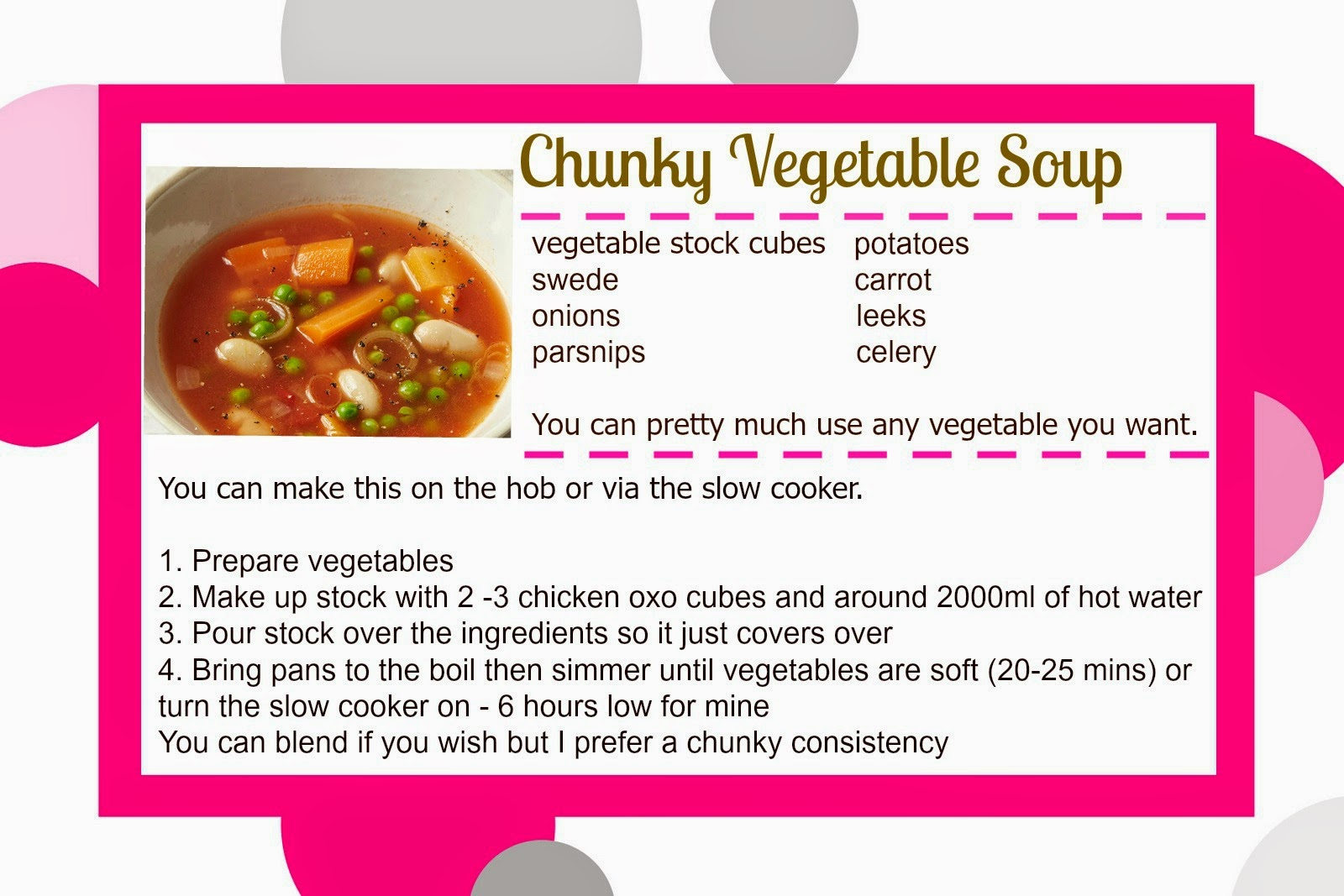 slimming world super speed soup