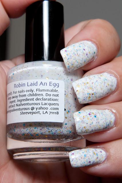 Nail Venturous - Robin Laid an Egg