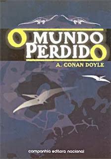 Capa de O mundo perdido - Arthur Conan Doyle