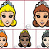 Princess Free Printable Masks.