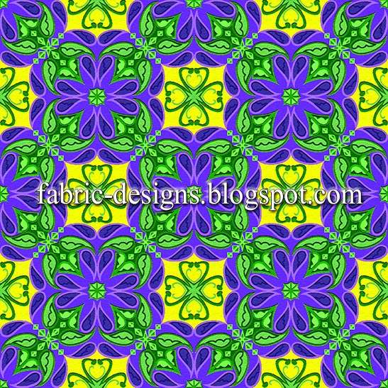 geometric patterns for textile printing 3