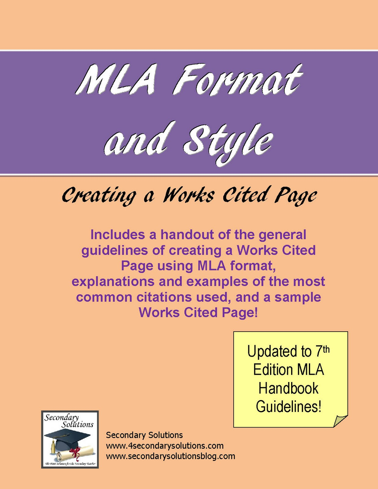mla style works cited