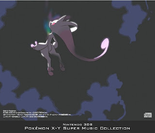 Pokemon XY Game Sound Tracks CD Jacket bacl