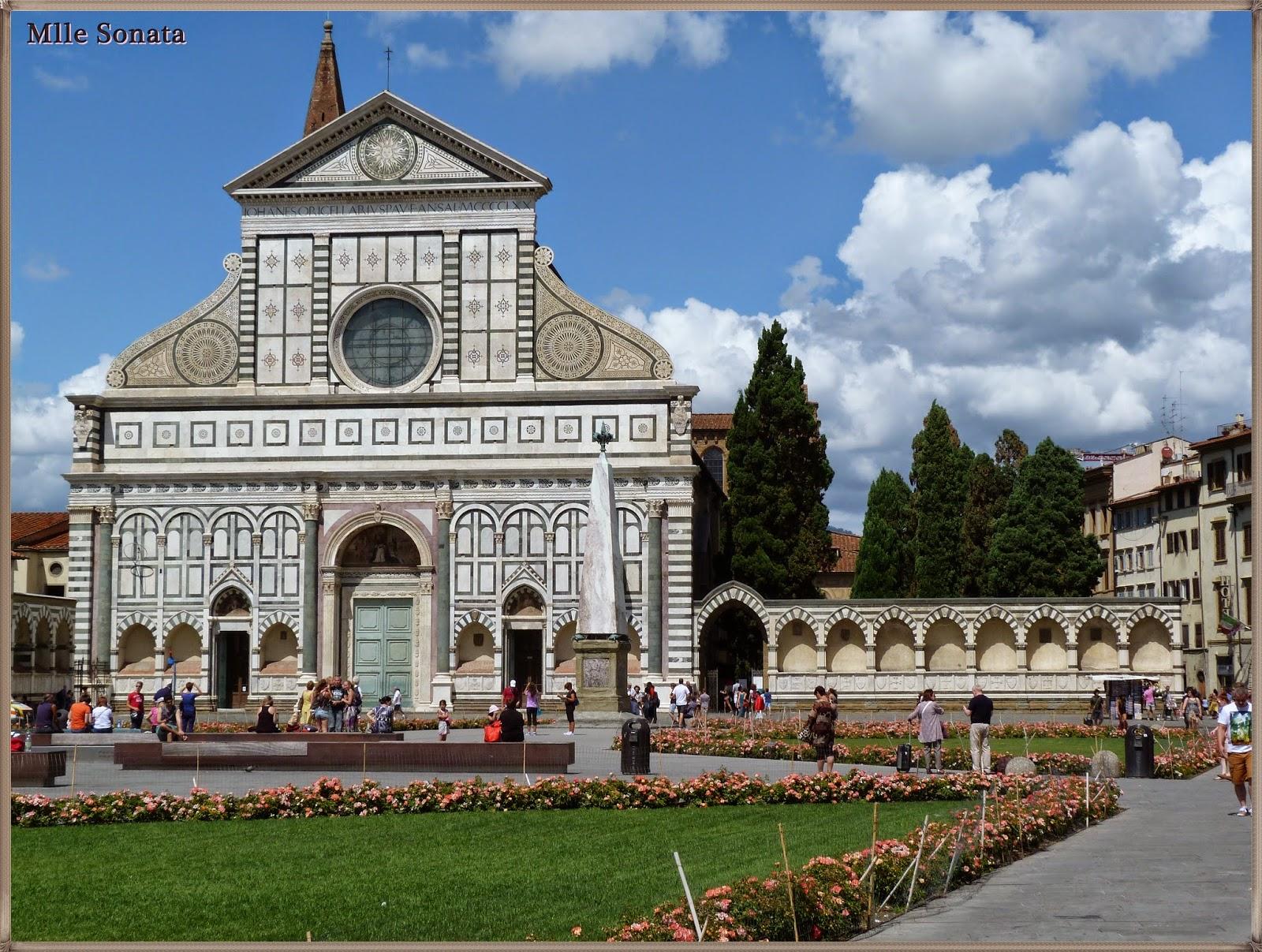 Voyage Italie Sienne Eglise Santa Maria Novella