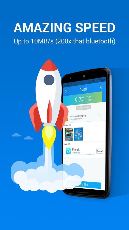 "Free Download Apps "" SHAREit v3.0.18 Updated "" Android to ..."