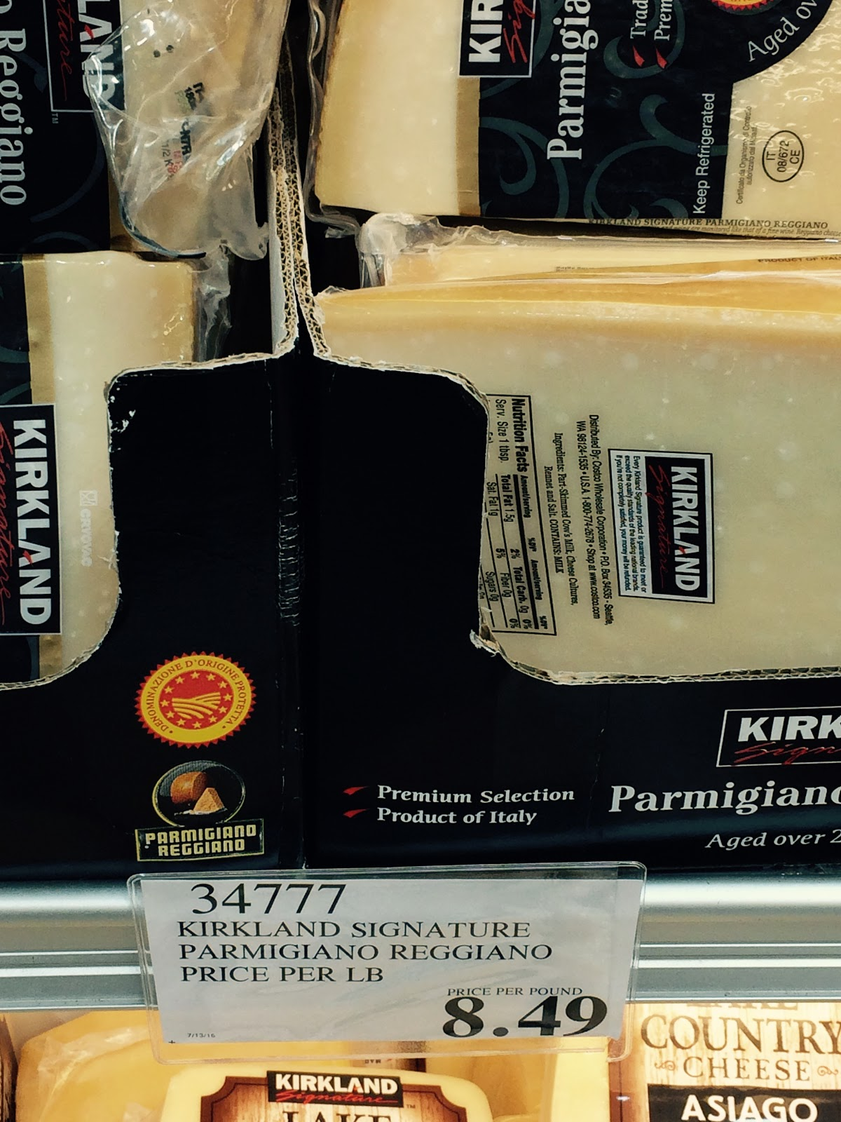 do you really know what you re eating at costco lower price on often called the king of cheeses wedges of kirkland signature parmigiano reggiano from are now available at costco whole in hackensack for 8 49