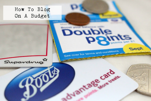 blogging budget money saving advice tips tricks