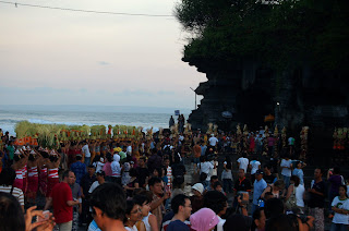 Tanah Lot Crowded