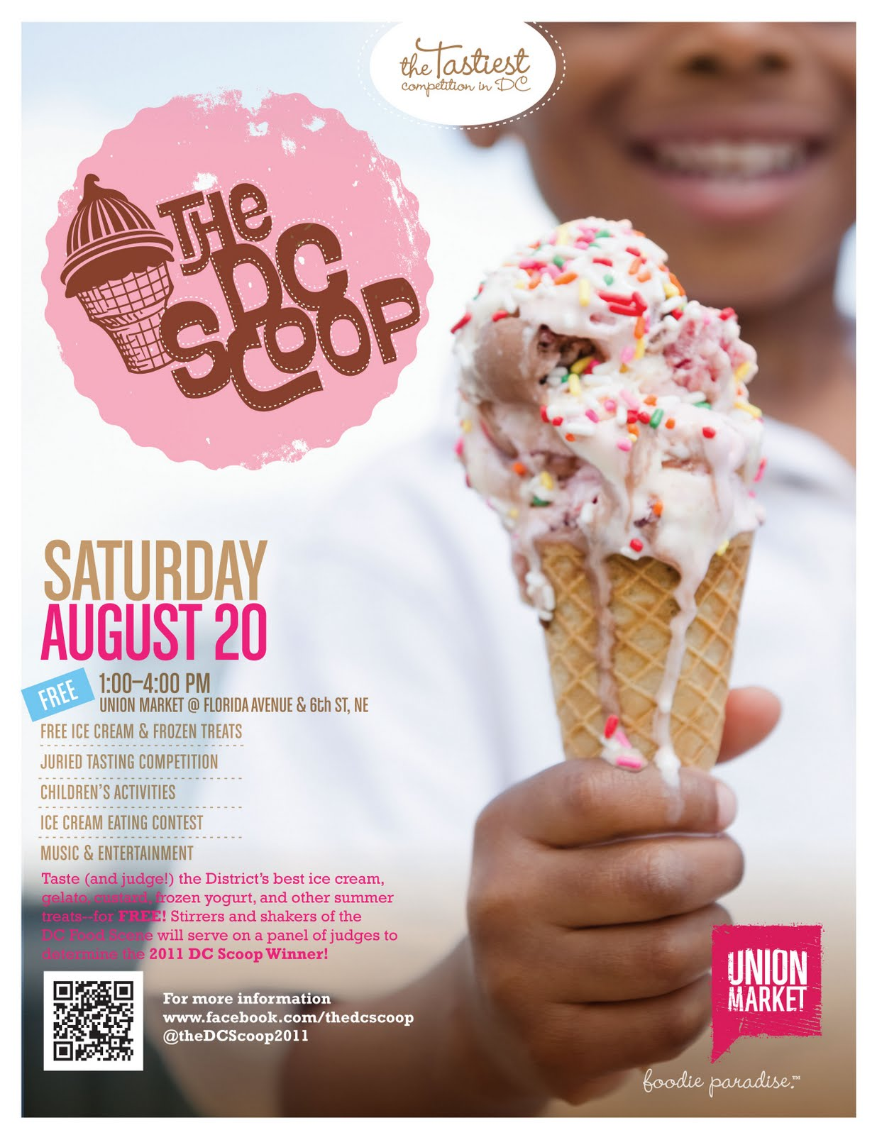 bloomingdale dc scoop free ice cream event at union market on