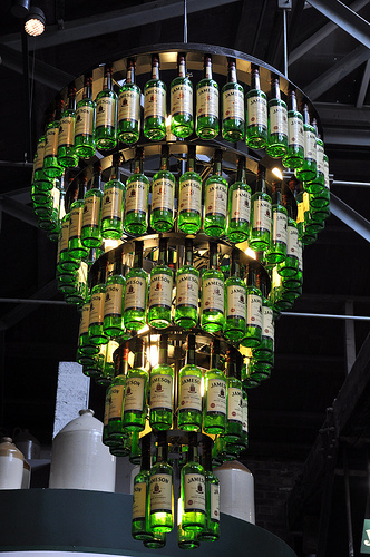 A Smile A Day Bottlelicious Chandeliers Made Out Of