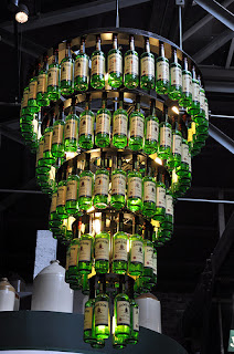 A smile a day bottlelicious chandeliers made out of for How to make your own wine bottle chandelier