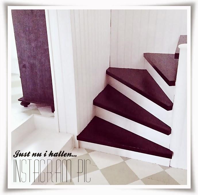 måla trappsteg, måla om trapp, måla trapp