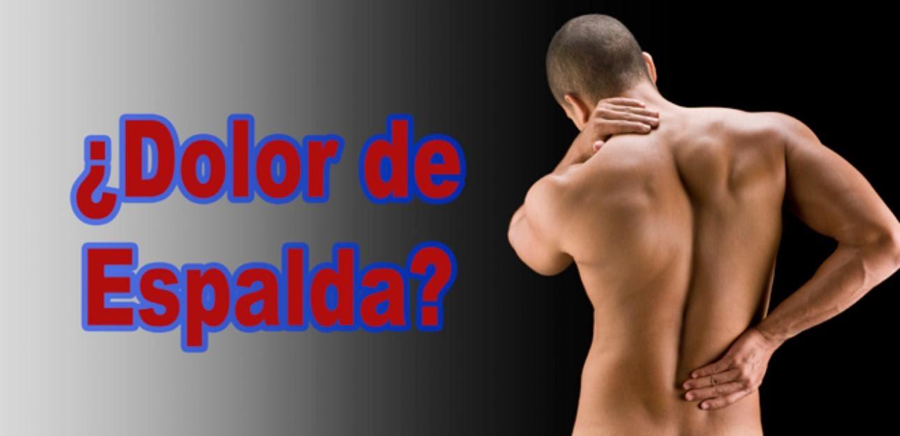¿Tienes dolor crónico de espalda? Al hacer click en la imagen encontraras una solución efectiva.