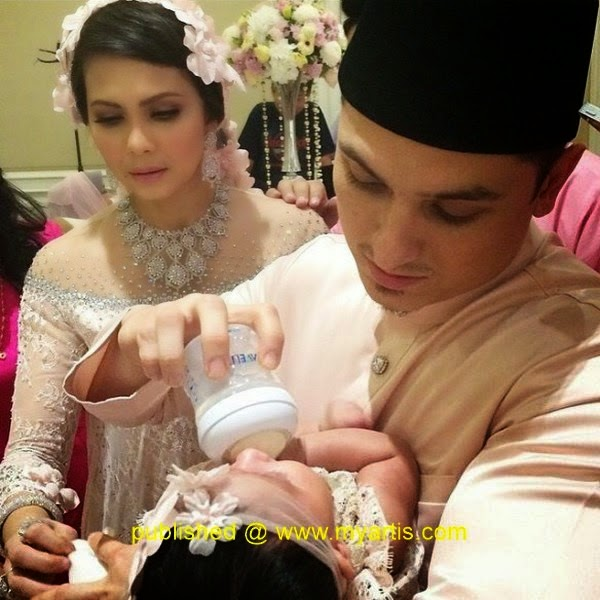 Gambar Sekitar majlis Aqiqah Aaisyah Dhia Rana bayi Rozita Che Wan