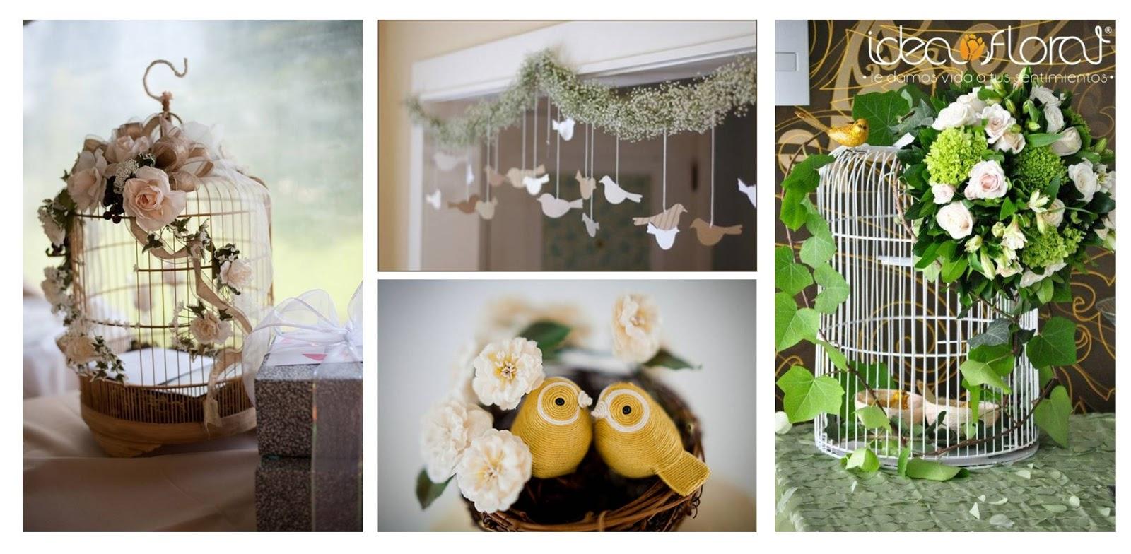 Jaulas Decoracion Bodas ~ Idea Floral Tendencias de boda para el 2013