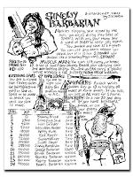 Sinewy Barbarian