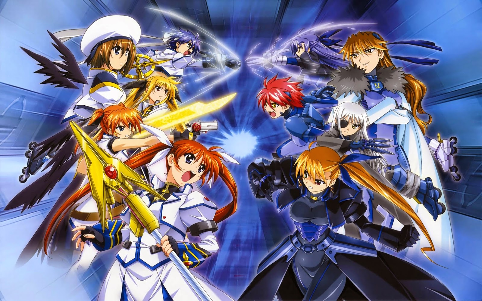 Mahou Shoujo Lyrical Nanoha Vivid - Magical Girl Lyrical Nanoha Vivid