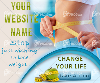 Lose Weight Web Banner Large rectangle: 336×280