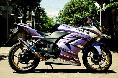 Top 8 Foto Modifikasi Motor Kawasaki Ninja 250 CC