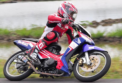 Supra x125 modifikasi mp3