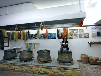 Dyeing process of wool for Turkey carpet
