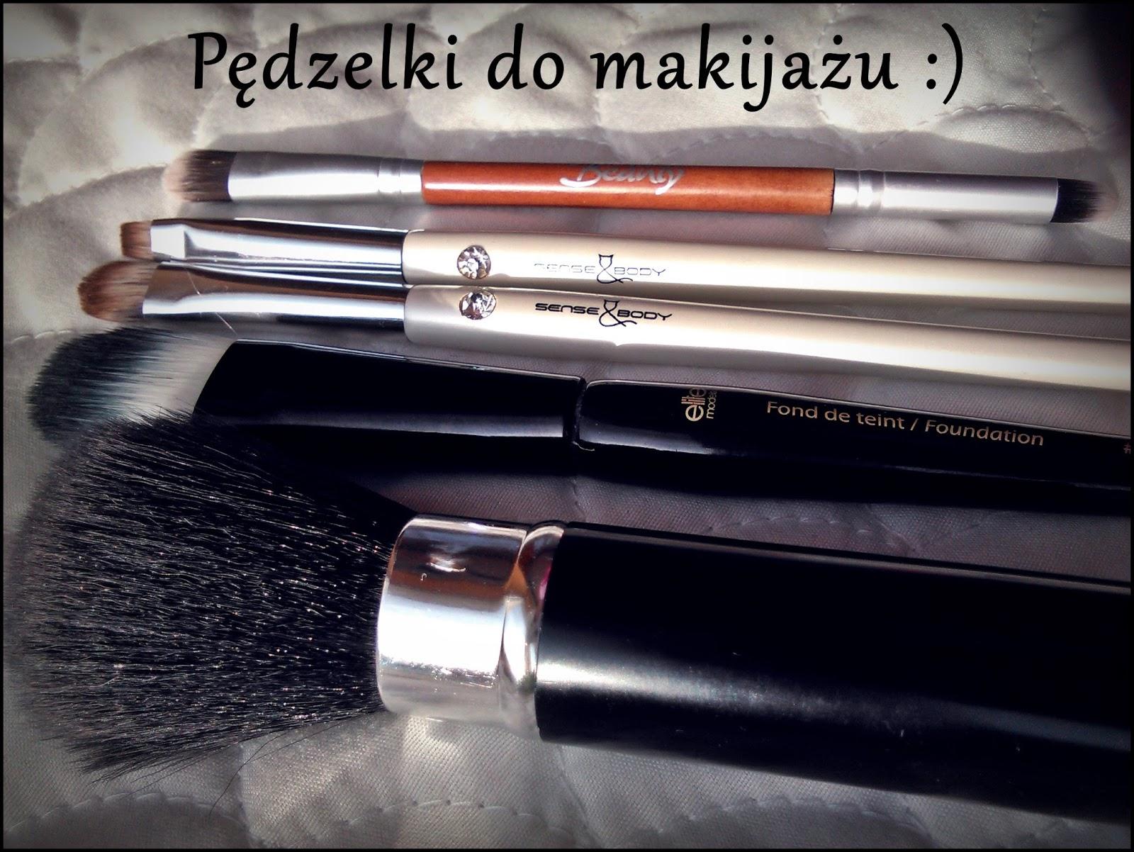 Pędzelki do makijażu - jakich używam?