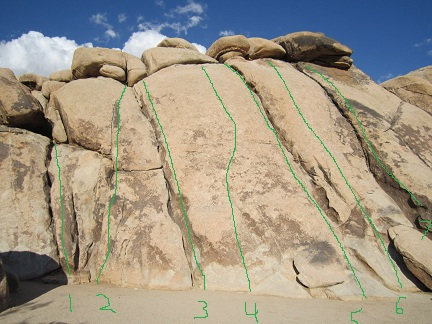 Bay Area Climbing All Things Beta Joshua Tree Route Beta