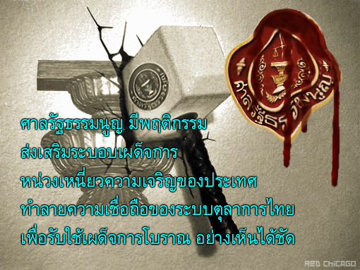 ศาลรัฐธรรมนูญ มีพฤติกรรม