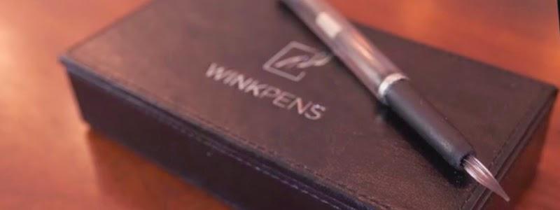 WinkPen, bolígrafo rellenable con cualquier líquido