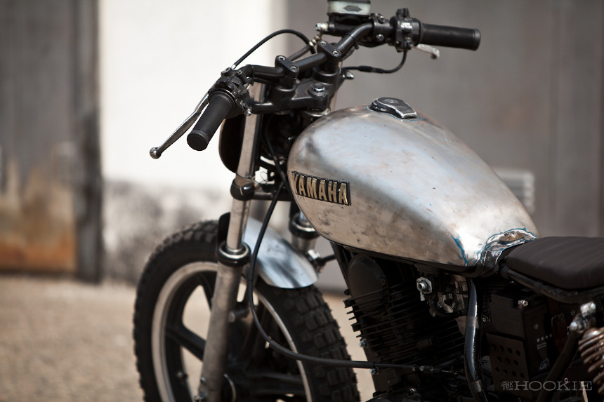 Racing Caf 232 Yamaha Sr 250 1983 Quot Woody Quot By The Hookie