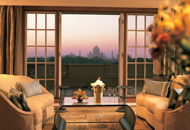 The Oberoi Amarvilas hotel, Agra
