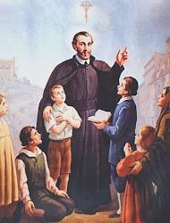 Guia e Patrono dos catequistas.- Bem-aventurado César de Bus