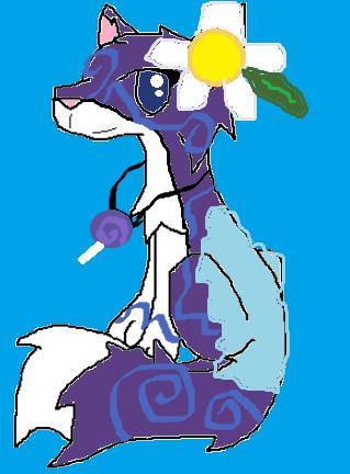 Dancing Sillydog, my nm wolf