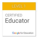 Educador certificado de Google de nivel 1