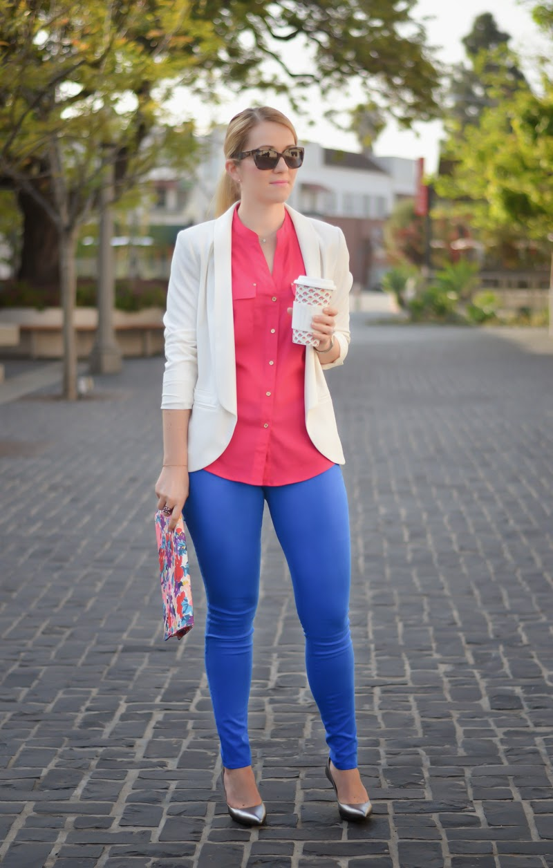 Business Fabulous - J Brand Blue Luxe Sateen Jeans - Luci's Morsels