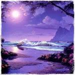 Noite lilás