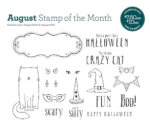 August Stamp Of The Month - Perr-fect Halloween