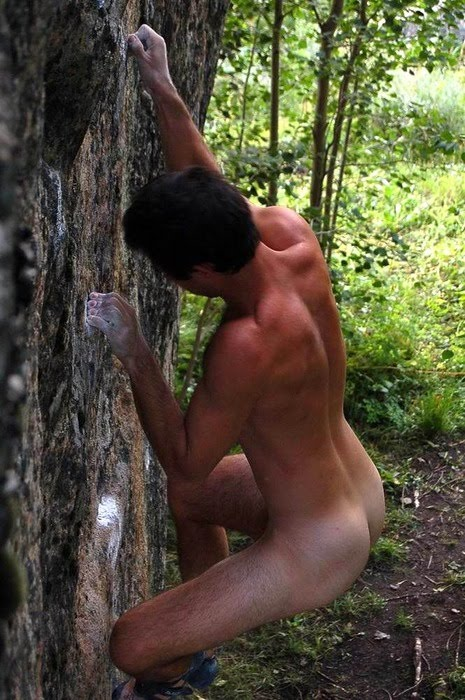 from Elliot naked gay mountain climbing