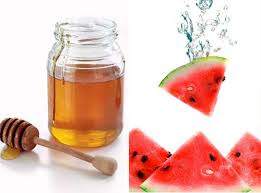 Cách làm món sinh tố dưa hấu mật ong