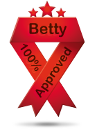 Grazie Betty di questo premio!!!