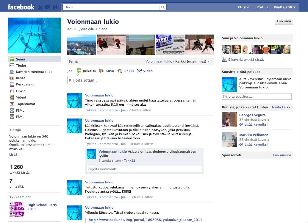 facebook yhteisö Huittinen