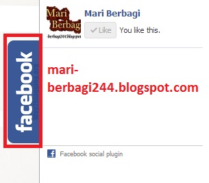 Cara Membuat Like Box Facebook Slide Pada Blog